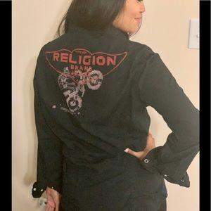 True Religion Cowgirl Shirt